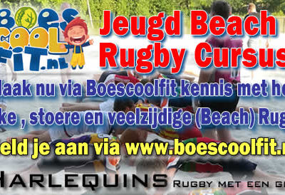 Boescoolfit Beachrugby Harlequins Oldenzaal